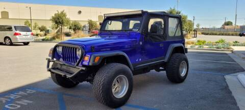1997 Jeep Wrangler for sale at Alltech Auto Sales in Covina CA