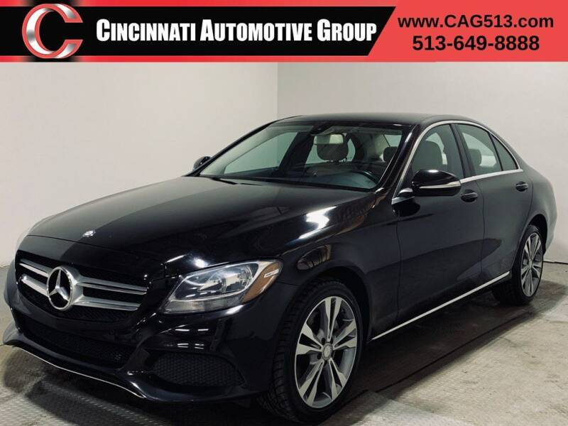 2015 Mercedes-Benz C-Class for sale at Cincinnati Automotive Group in Lebanon OH