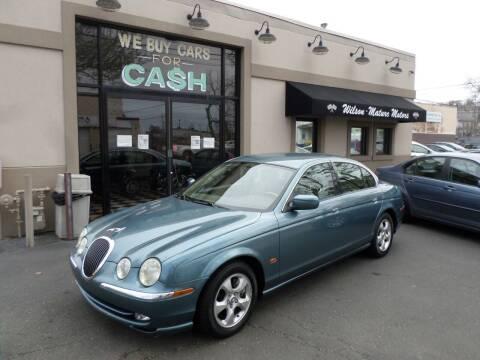 2001 Jaguar S-Type for sale at Wilson-Maturo Motors in New Haven Ct CT