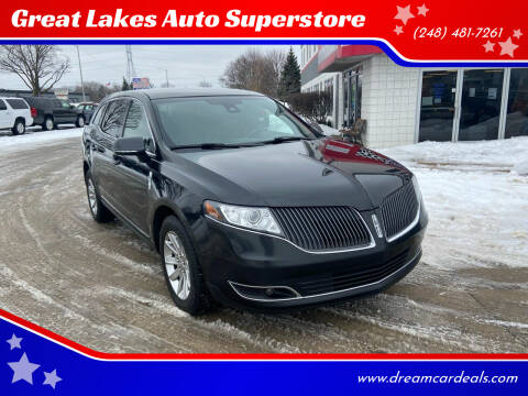 2015 Lincoln MKT Town Car for sale at Great Lakes Auto Superstore in Pontiac MI
