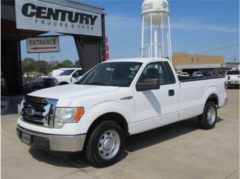 2012 Ford F-150 for sale at CENTURY TRUCKS & VANS in Grand Prairie TX