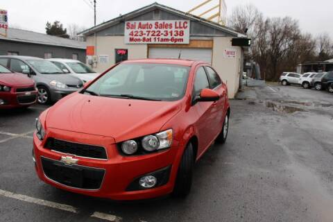 2013 Chevrolet Sonic for sale at SAI Auto Sales - Used Cars in Johnson City TN