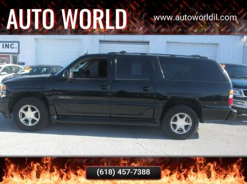 2004 GMC Yukon XL for sale at Auto World in Carbondale IL