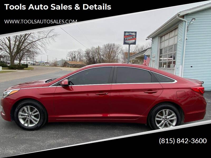 2016 Hyundai Sonata for sale at Tools Auto Sales & Details in Pontiac IL