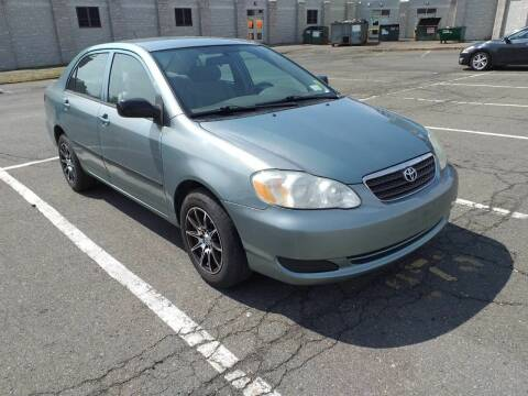 2007 Toyota Corolla for sale at Shah Motors LLC in Paterson NJ