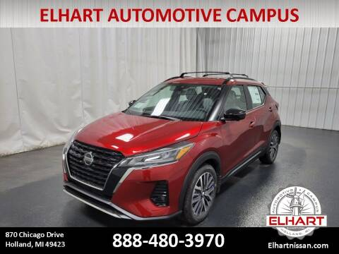2021 Nissan Kicks for sale at Elhart Automotive Campus in Holland MI