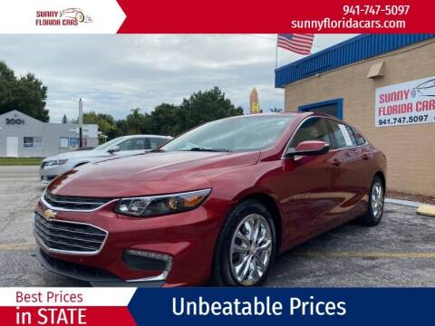 2017 Chevrolet Malibu for sale at Sunny Florida Cars in Bradenton FL
