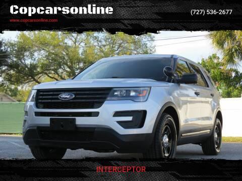 2016 Ford Explorer for sale at Copcarsonline in Largo FL