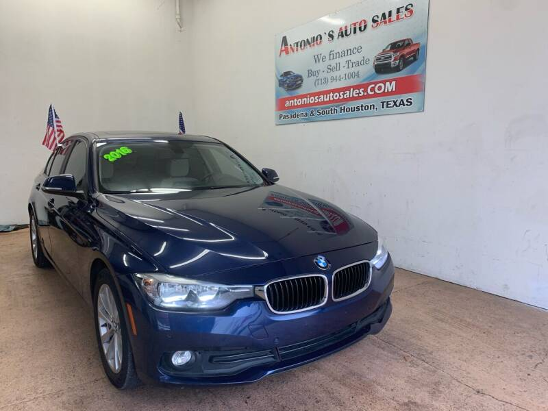 2016 BMW 3 Series for sale at Antonio's Auto Sales - Antonio`s  2206 in Pasadena TX