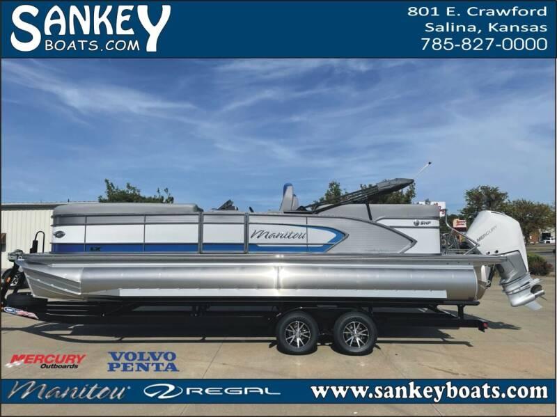 2021 Manitou 25 LX RF SHP for sale at SankeyBoats.com in Salina KS