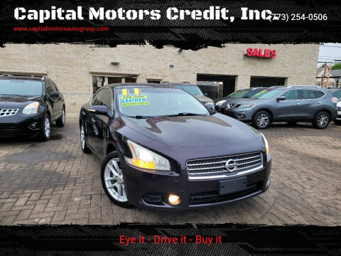 2011 Nissan Maxima for sale at Capital Motors Credit, Inc. in Chicago IL