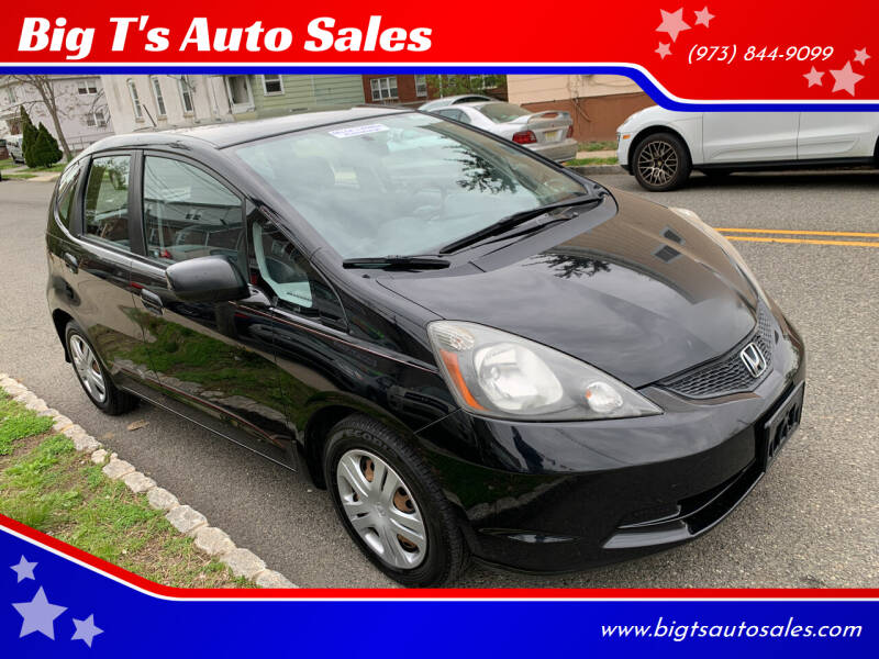 2010 Honda Fit for sale at Big T's Auto Sales in Belleville NJ