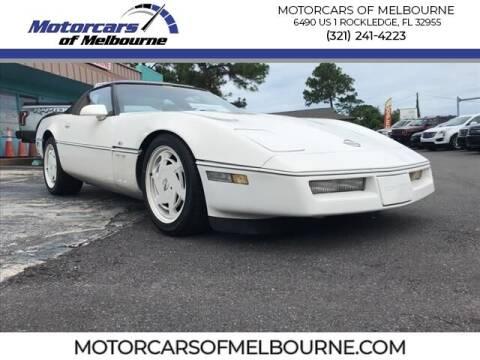 1988 Chevrolet Corvette for sale at Motorcars of Melbourne in Rockledge FL
