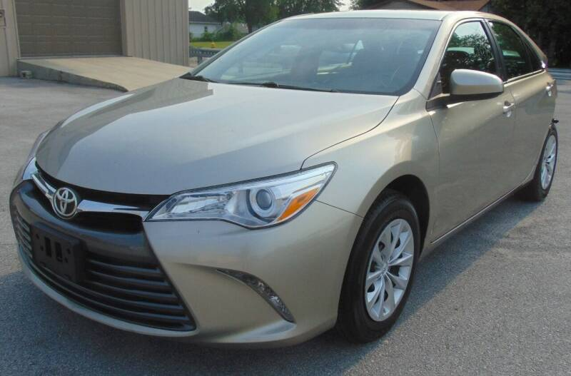2017 Toyota Camry for sale at Kenny's Auto Wrecking in Lima OH