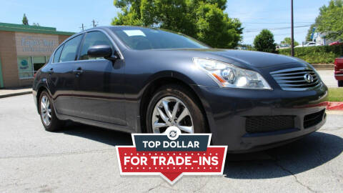 2008 Infiniti G35 for sale at NORCROSS MOTORSPORTS in Norcross GA