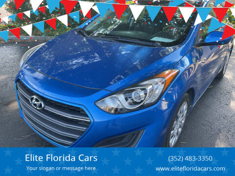 2017 Hyundai Elantra GT for sale at Elite Florida Cars in Tavares FL