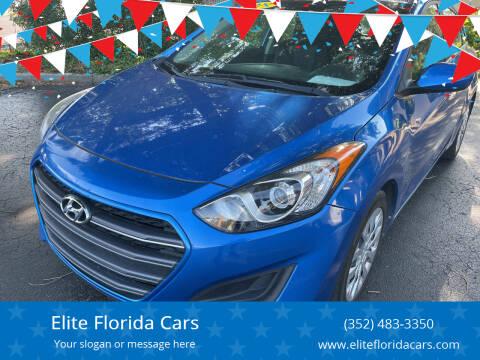 2017 Hyundai Elantra GT for sale at Elite Florida Cars in Tavares FL