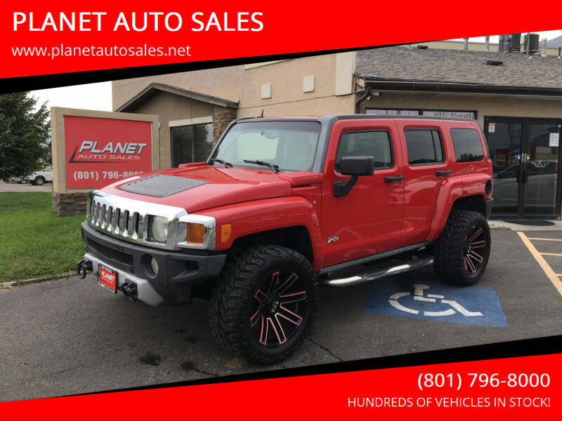 2008 HUMMER H3 for sale at PLANET AUTO SALES in Lindon UT