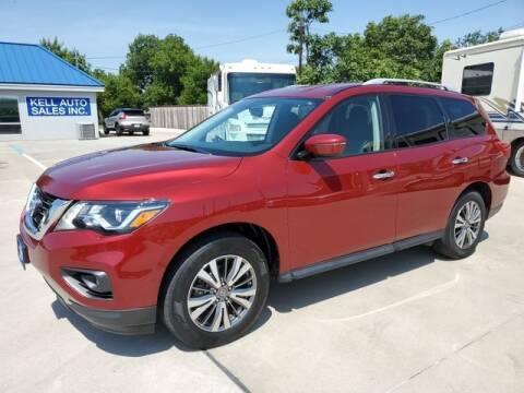 2018 Nissan Pathfinder for sale at Kell Auto Sales, Inc - Grace Street in Wichita Falls TX
