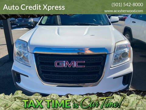 2016 GMC Terrain for sale at Auto Credit Xpress in North Little Rock AR