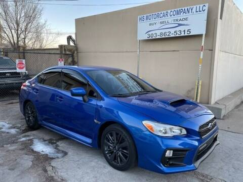 2018 Subaru WRX for sale at His Motorcar Company in Englewood CO