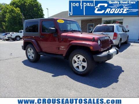 2010 Jeep Wrangler for sale at Joe and Paul Crouse Inc. in Columbia PA