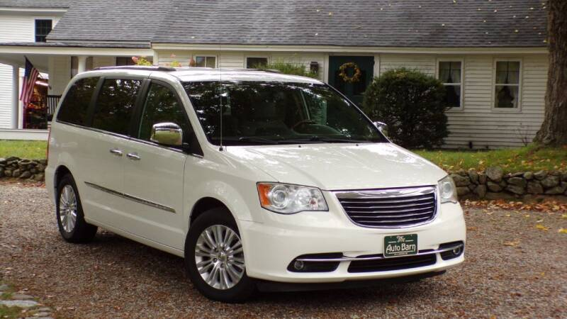 2013 Chrysler Town and Country for sale at The Auto Barn in Berwick ME