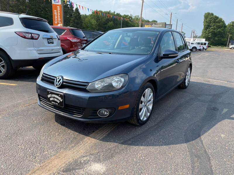 2013 Volkswagen Golf for sale at Affordable Auto Sales in Webster WI