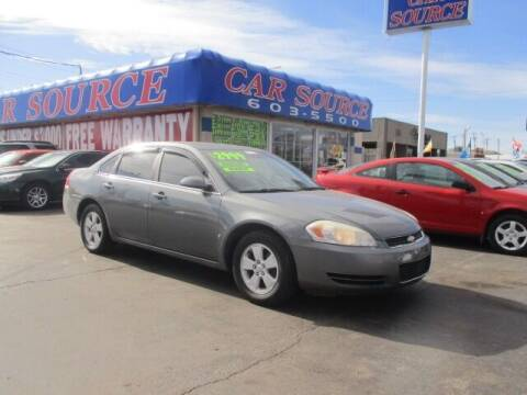 2008 Chevrolet Impala for sale at CAR SOURCE OKC in Oklahoma City OK