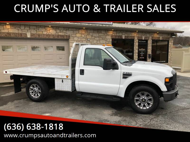 2008 Ford F-350 Super Duty for sale at CRUMP'S AUTO & TRAILER SALES in Crystal City MO
