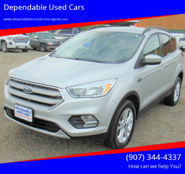 2018 Ford Escape for sale at Dependable Used Cars in Anchorage AK