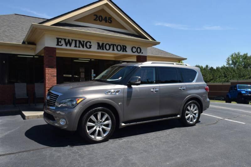 2014 Infiniti QX80 for sale at Ewing Motor Company in Buford GA