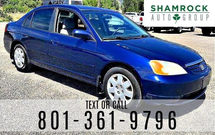 2001 Honda Civic for sale at Shamrock Group LLC #1 in Pleasant Grove UT