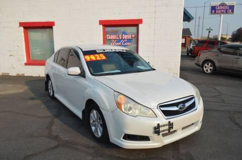 2012 Subaru Legacy for sale at CARGILL U DRIVE USED CARS in Twin Falls ID
