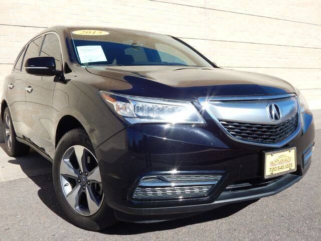 2015 Acura MDX for sale at Altitude Auto Sales in Denver CO