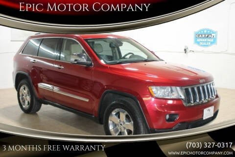 2011 Jeep Grand Cherokee for sale at Epic Motor Company in Chantilly VA