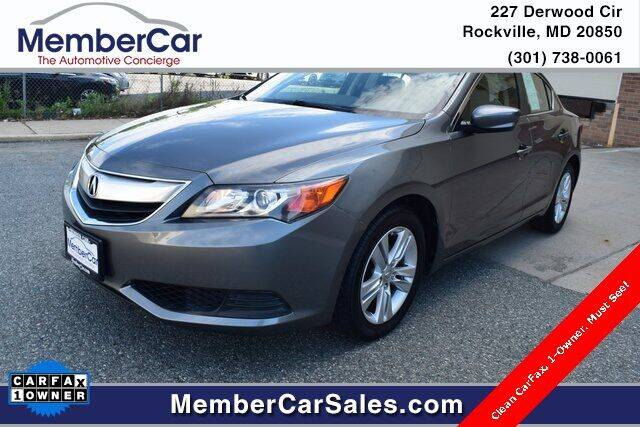 2013 Acura ILX for sale at MemberCar in Rockville MD