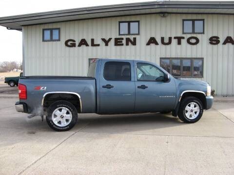 2008 Chevrolet Silverado 1500 for sale at Galyen Auto Sales Inc. in Atkinson NE