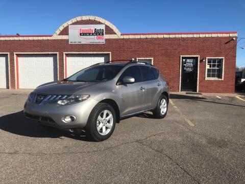 2010 Nissan Murano for sale at Family Auto Finance OKC LLC in Oklahoma City OK