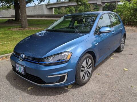 2016 Volkswagen e-Golf for sale at EXECUTIVE AUTOSPORT in Portland OR