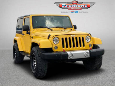 2015 Jeep Wrangler for sale at Rocky Mountain Commercial Trucks in Casper WY