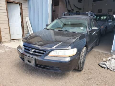 2002 Honda Accord for sale at PYRAMID MOTORS - Pueblo Lot in Pueblo CO
