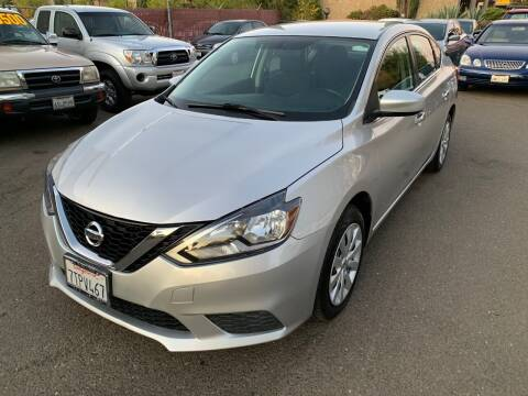 2016 Nissan Sentra for sale at C. H. Auto Sales in Citrus Heights CA