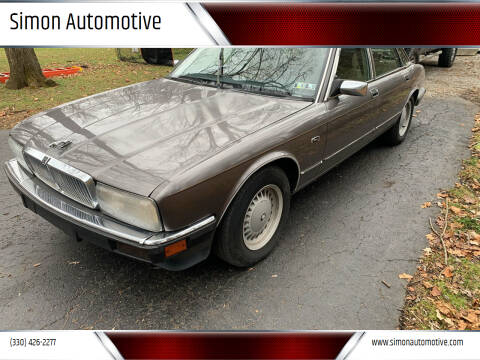 1991 Jaguar XJ-Series for sale at Simon Automotive in East Palestine OH