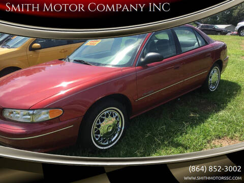 1998 Buick Century for sale at Smith Motor Company INC in Mc Cormick SC