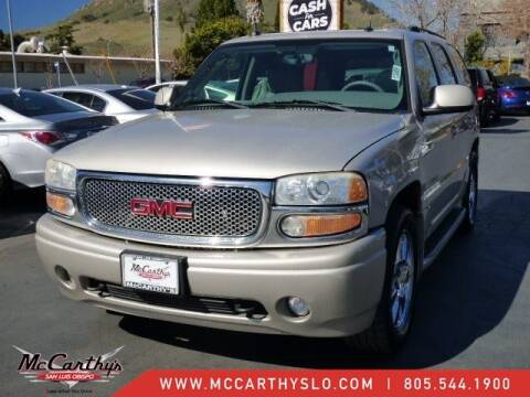 2005 GMC Yukon for sale at McCarthy Wholesale in San Luis Obispo CA