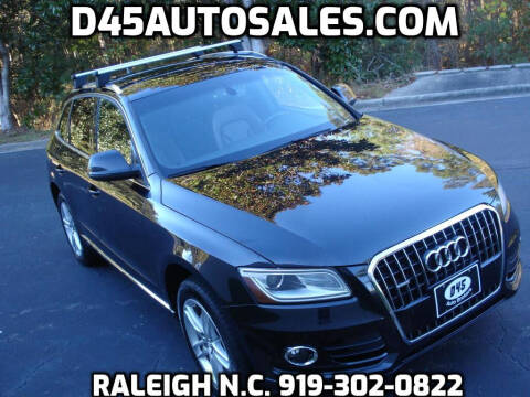 2014 Audi Q5 for sale at D45 Auto Brokers in Raleigh NC