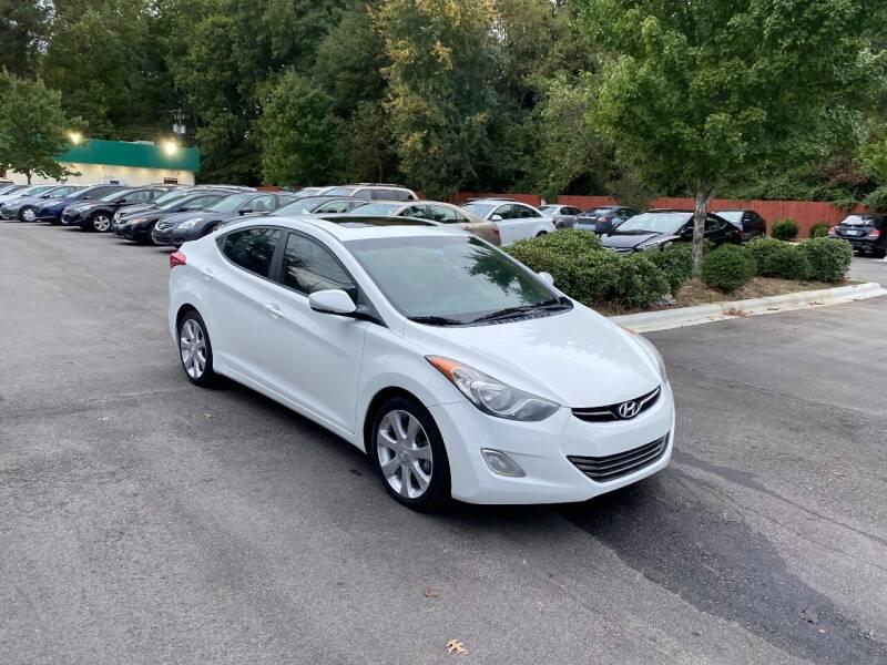 2013 Hyundai Elantra for sale at Alfa Auto Sales in Raleigh NC