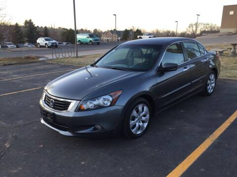 2008 Honda Accord for sale at QUEST MOTORS in Englewood CO