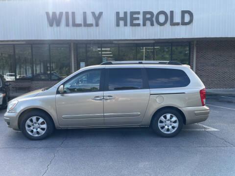 2007 Hyundai Entourage for sale at Willy Herold Automotive in Columbus GA